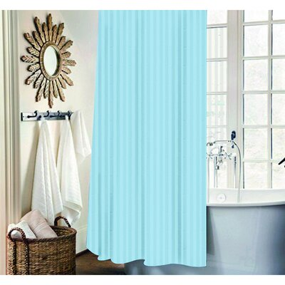 Mist 13 Piece Shower Curtain Set Color: Ocean