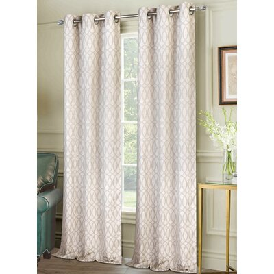 Vera Curtain Panels Color: Beige