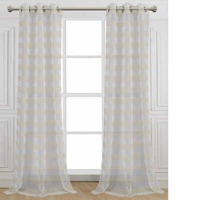 Cabana Curtain Panels Size: 76 W x 96 L