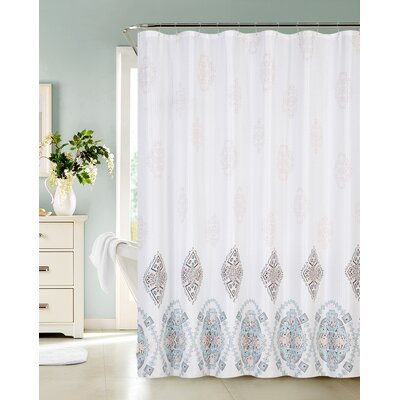 Fresco Medallions Shower Curtain