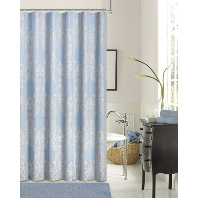 Imene Shower Curtain Color: Blue