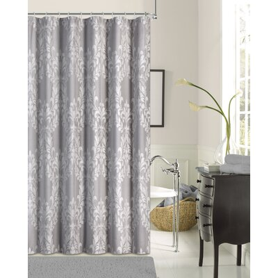 Parmley Shower Curtain Color: Silver