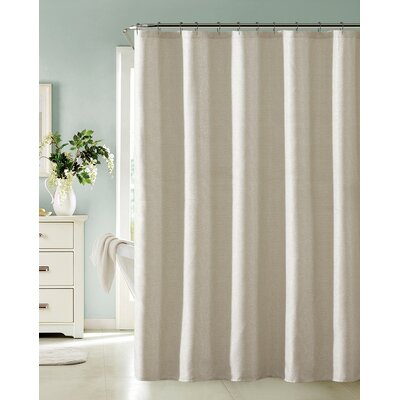 Bentley Shower Curtain Color: Champagne