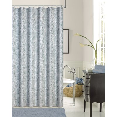 Rahway Shower Curtain Color: Seafoam