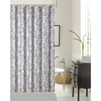 Rahway Shower Curtain Color: Silver