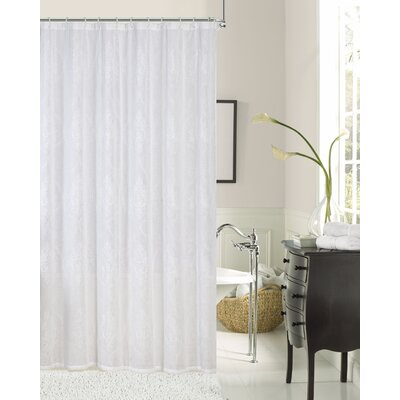 Prudence Embroidered Shower Curtain