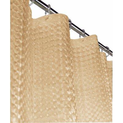 Wotring 3D Vinyl Shower Curtain Color: Beige