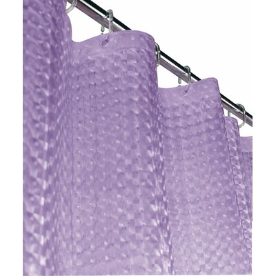Wotring 3D Vinyl Shower Curtain Color: Lilac