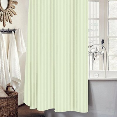 Mist 13 Piece Shower Curtain Set Color: Ivory