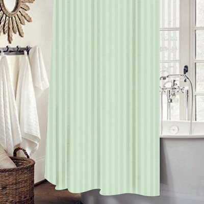 Mist 13 Piece Shower Curtain Set Color: Sage