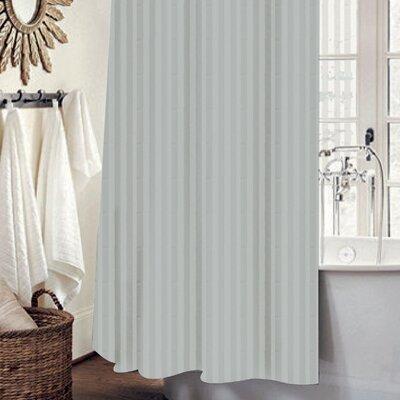 Mist 13 Piece Shower Curtain Set Color: Silver