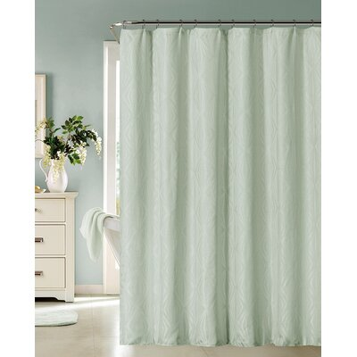 Mcneill Shower Curtain Color: Spa