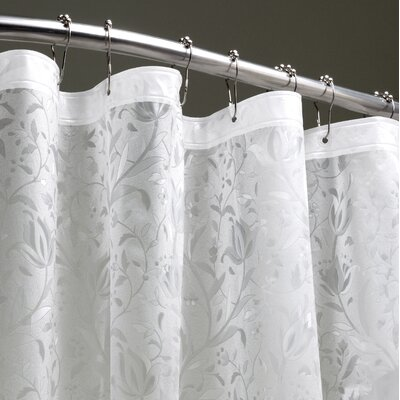 Elkland 3D Vinyl Shower Curtain Color: Clear