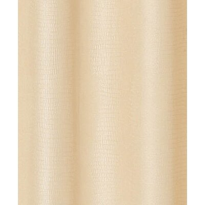 Drury Textured Shower Curtain Color: Ivory