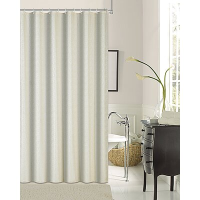 Pinellas Shower Curtain Color: Ivory