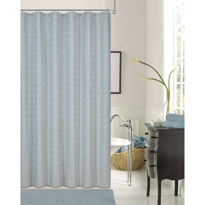 Pinellas Shower Curtain Color: Blue