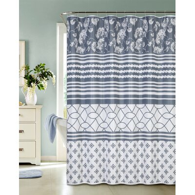 Loring Waffle Shower Curtain