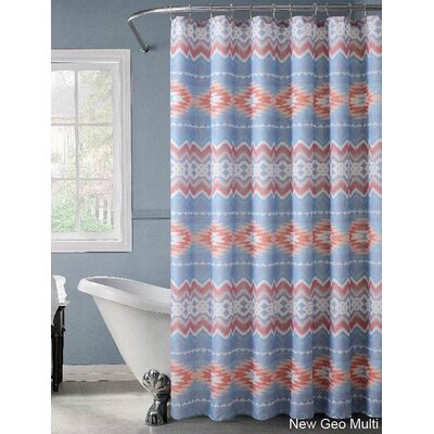 Cainwood Geo Lurex Shower Curtain