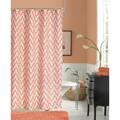 Clack Modern Shower Curtain