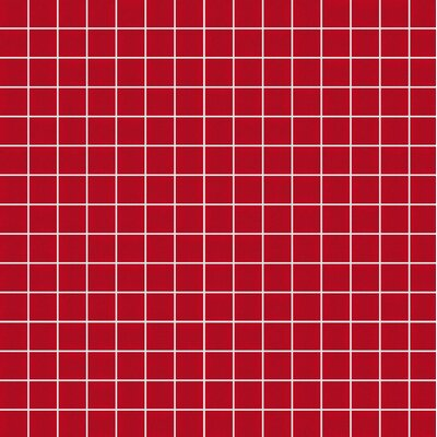 Opal 13 x 13 Glass Mosaic Tile in Red