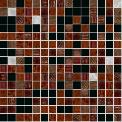 Standard Mix 13 x 13 Glass Mosaic Tile
