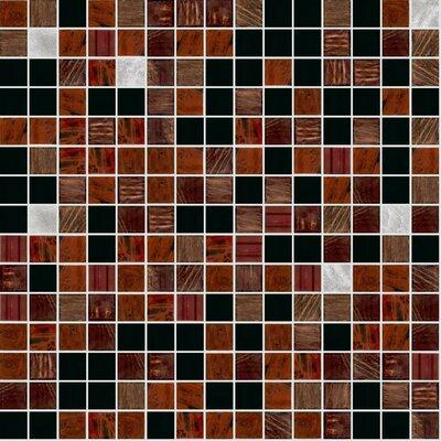 Standard Mix 13 x 13 Glass Mosaic Tile
