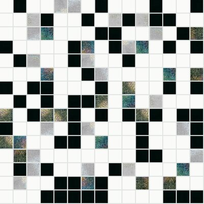 13 x 13 Glass Mosaic Tile