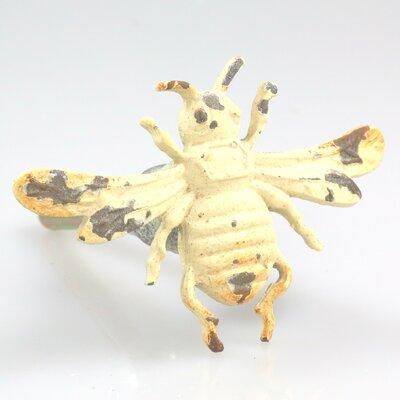 Handpainted Bee Novelty Knob (set Of 4)