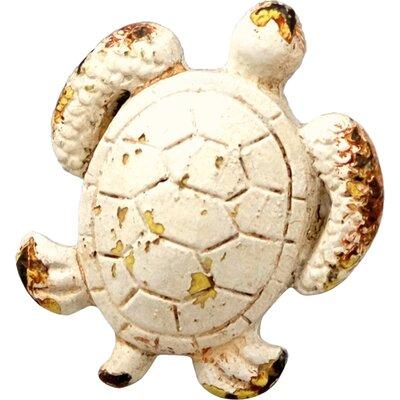 Handpainted Turtle Novelty Knob (set Of 4)