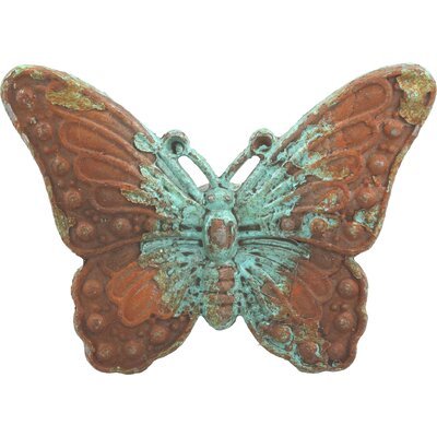Handpainted Butterfly Novelty Knob (set Of 4)