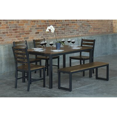 Loft  6 Piece Dining Set Top Finish: Chocolate Spice