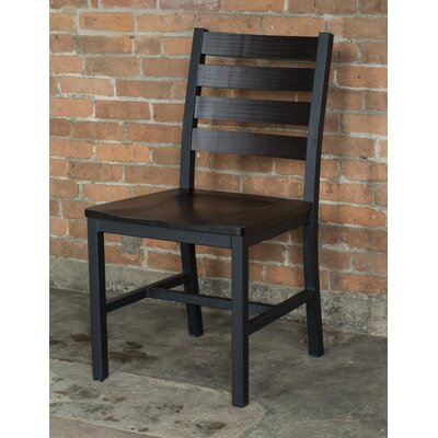 Loft Side Chair (Set of 2) Finish: Onyx