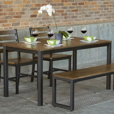 Loft 4 Piece Dining Set Top Finish: Chocolate Spice