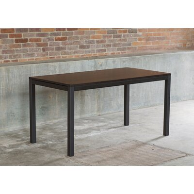 Loft Dining Table Finish: Onyx / Checker Black