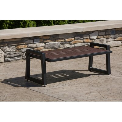 Vero Coffee Table Base Finish: Textured Black