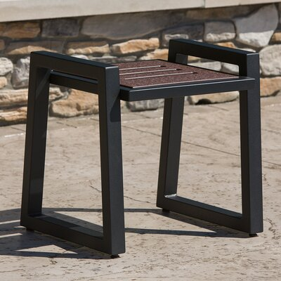 Vero End Table Base Color: Textured Black