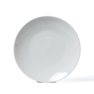 "Ten Strawberry Street Royal Coupe White Oversized 8"" Salad Plate (Set of 6) RCP0008"