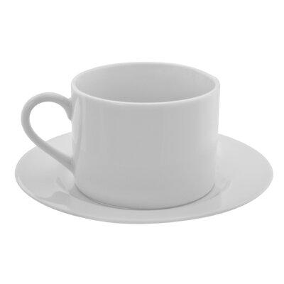 Ten Strawberry Street Dugan 8 oz. Teacup and Saucer (Set of 6) ZW-9