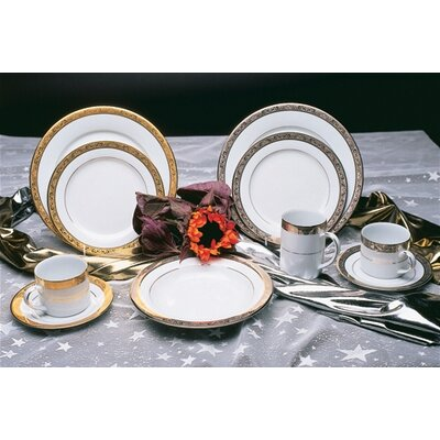 Ten Strawberry Street-studio Ten Paradise 6 Bread And Butter Plate With Platinum Band