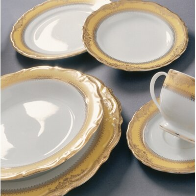 "Ten Strawberry Street Vanessa Gold 7.5"" Salad Plate  (Set of 16) at Sears.com"