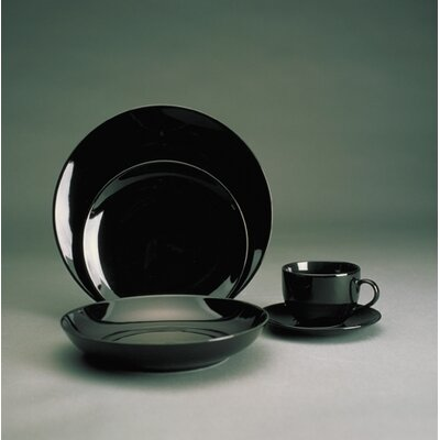 Black Coupe Dinnerware Collection-black Coupe 9 Soup Bowl