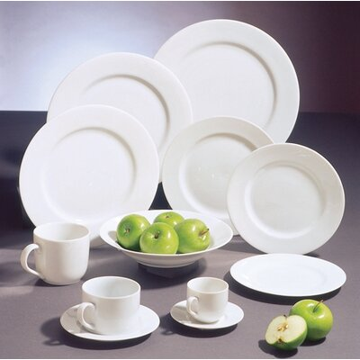 Classic White Dinnerware Collection-classic White 14 Oval Platter