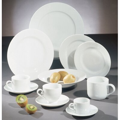 "Ten Strawberry Street Royal White 7.5"" Salad / Dessert Plate (Set of 8) at Sears.com"