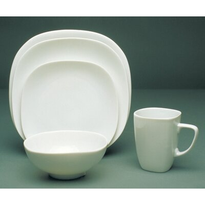 Fusion White Dinnerware Collection-fusion White 11 Dinner Plate