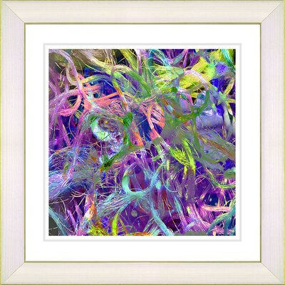 'Tangle' Framed Graphic Art Size: 14