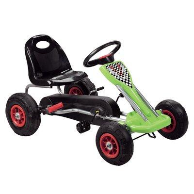 Speedy Pedal Go Kart Color: Green
