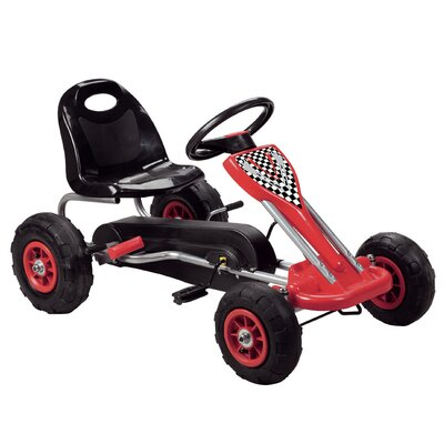 Vroom Rider Speedy Pedal Go Kart - Color: Red at Sears.com