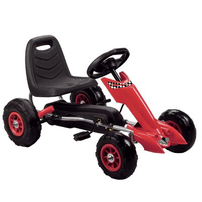 Vroom Rider Zoom Pedal Go Kart - Color: Red at Sears.com