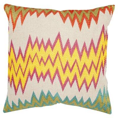 Ashley Newport Cotton Throw Pillow Size: 22