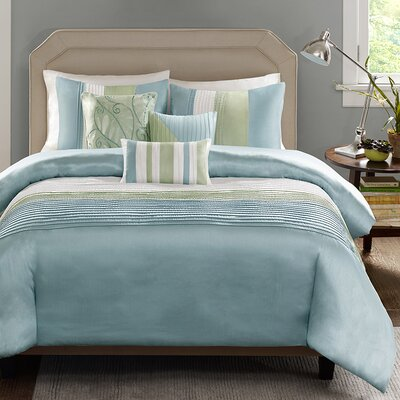 Allport 6 Piece Duvet Cover Set Size: King